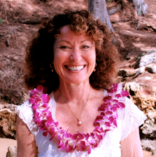 Reverend Karen Joy is an ordained interfaith minister and has lived on